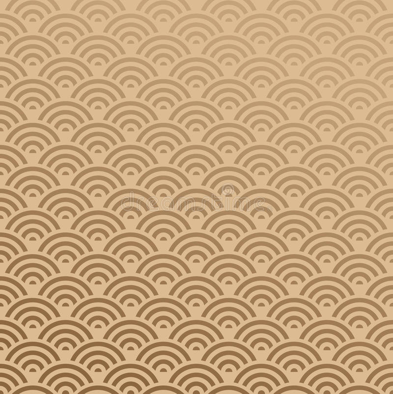 Orient Pattern Seamless stock illustration