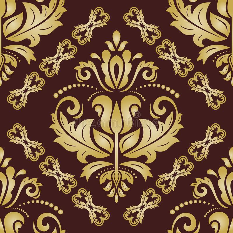 Orient Seamless Background royalty free illustration