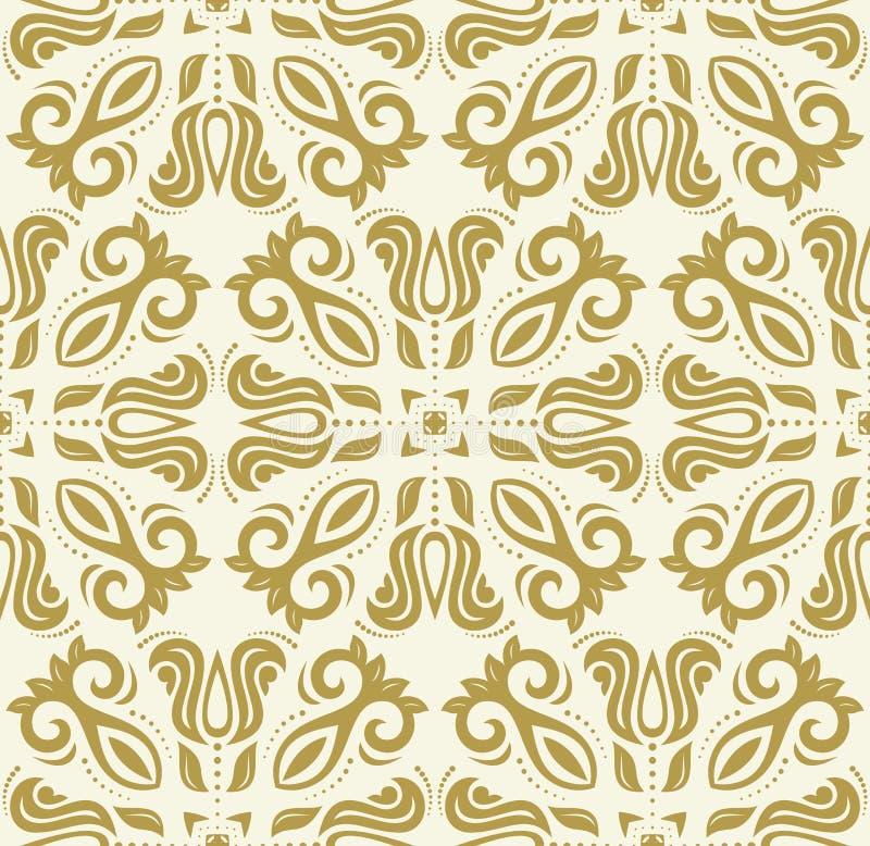 Orient Seamless Background vector illustration