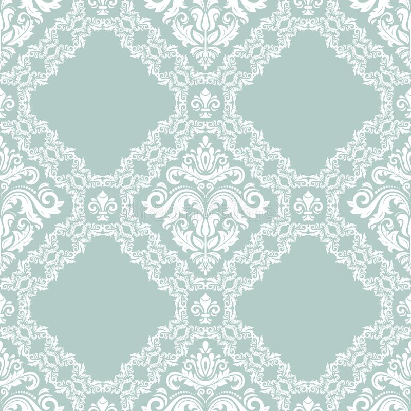 Orient Seamless Vector Background royalty free illustration