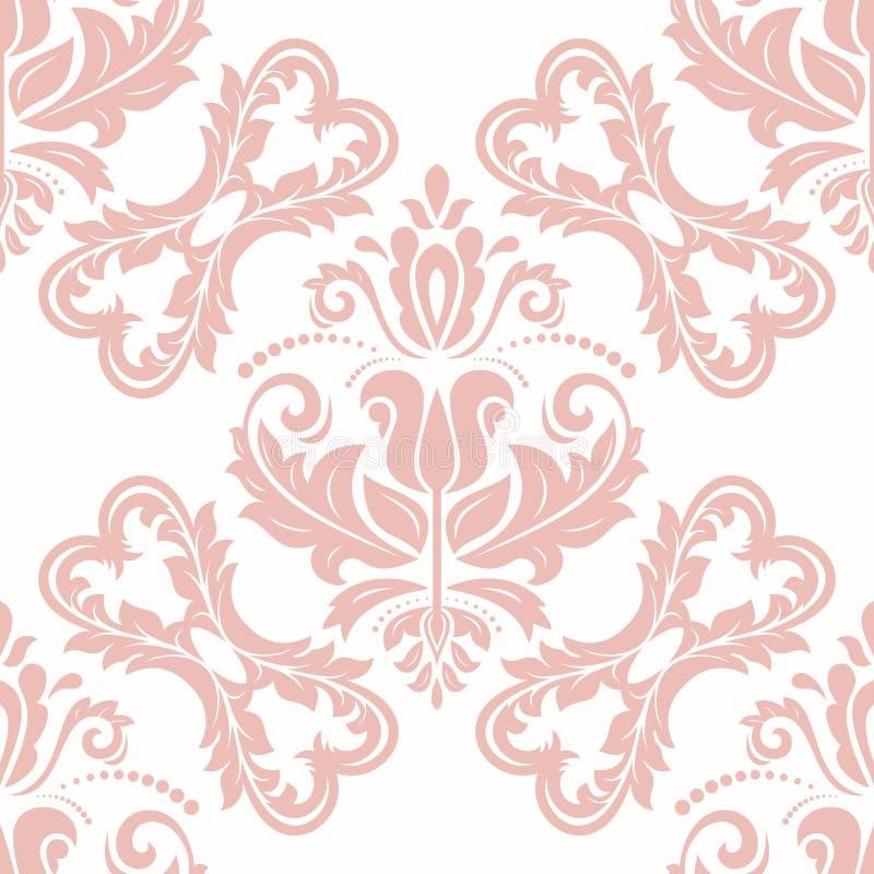 Orient Seamless Vector Background stock illustration