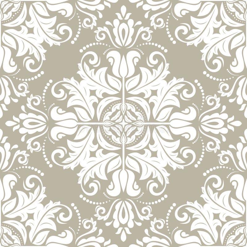 Orient Seamless Vector Background vector illustration