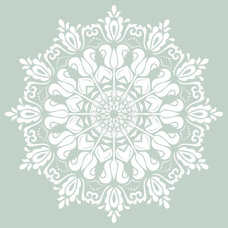Orient Vector Pattern. Abstract Background royalty free illustration