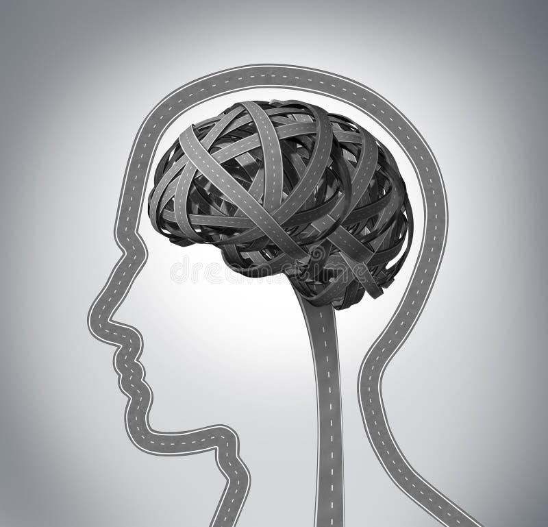 Orientação humana ilustração royalty free