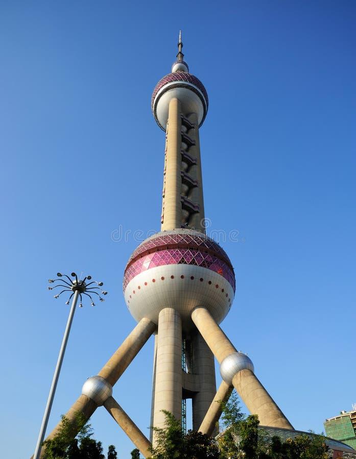 Orientała Perl wierza w Szanghaj obrazy stock