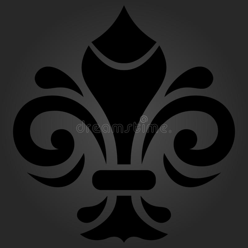 Oriental Abstract Pattern royalty free illustration