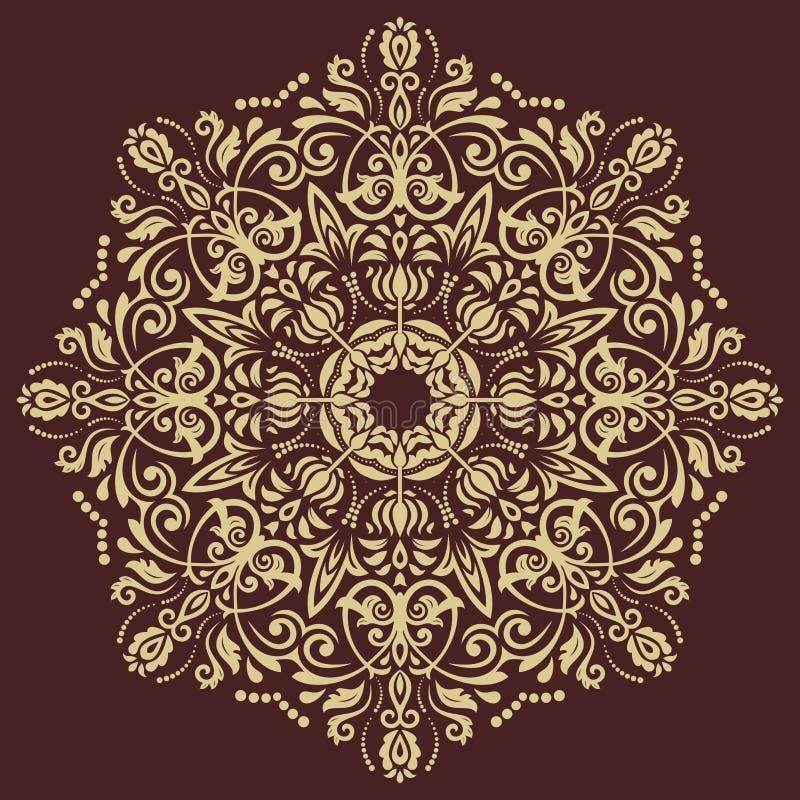 Oriental Abstract Vector Pattern vector illustration