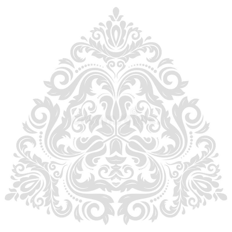 Oriental Abstract Vector Traingle royalty free illustration