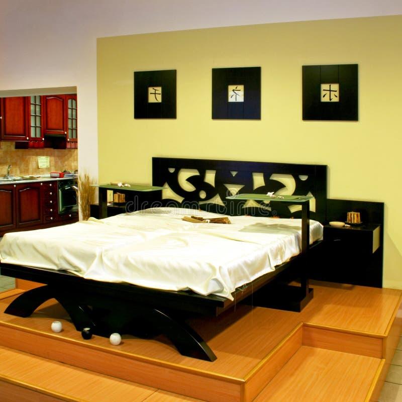Oriental apartment royalty free stock photos