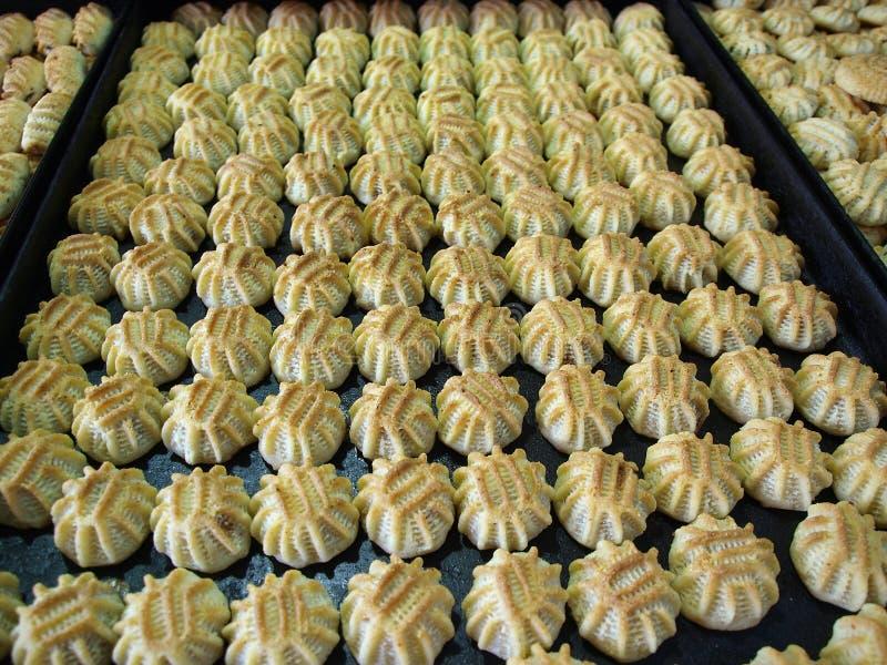 Oriental Arab sweets cookies. Maamoul Oriental Arab sweets cookies on a market display stock images