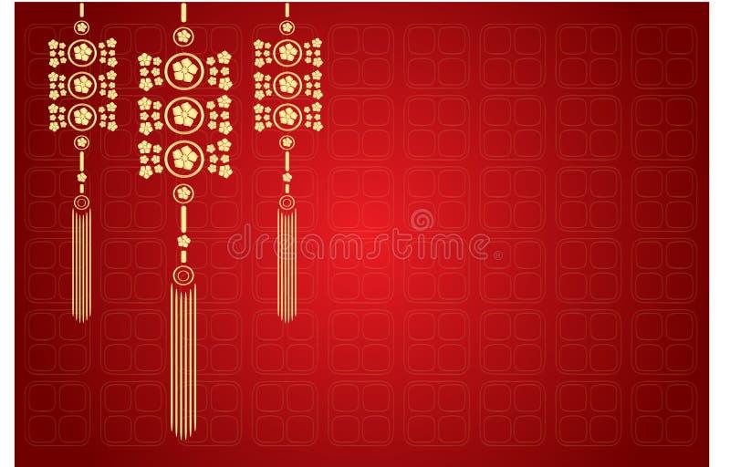 Oriental baground design royalty free illustration