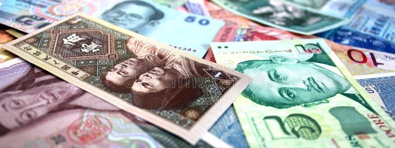 Oriental Banknotes stock image