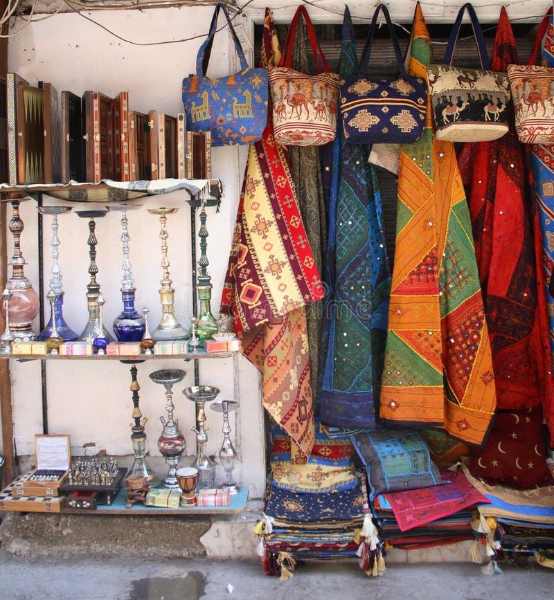 Oriental bazaar stock photo