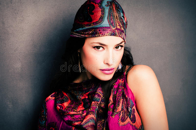 Oriental beauty royalty free stock photos