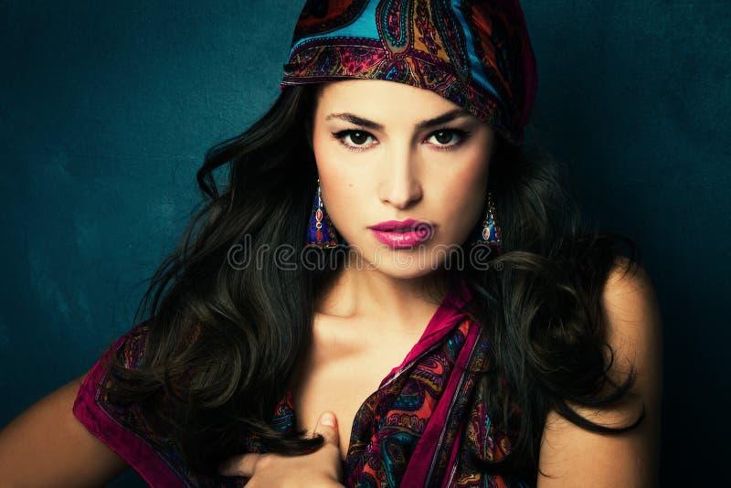 Oriental beauty stock photography