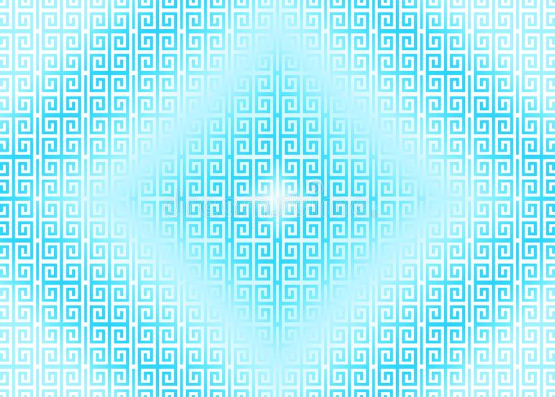 Oriental bleu, ornemental, chinois, arabe, islamique, fond de texture de modèle Imlek, Ramadan, papier peint de festival illustration de vecteur
