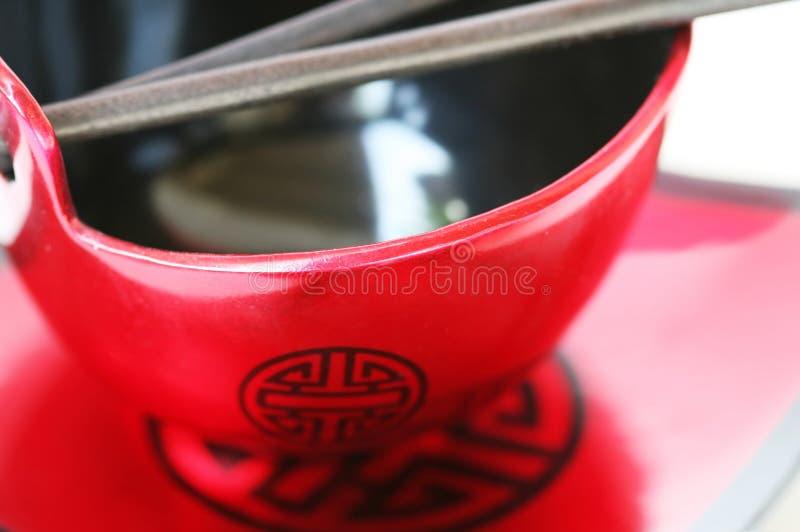 Oriental bowl royalty free stock image
