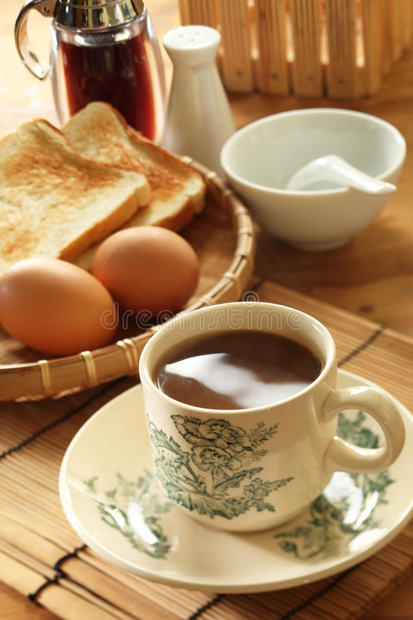 Oriental Breakfast stock image
