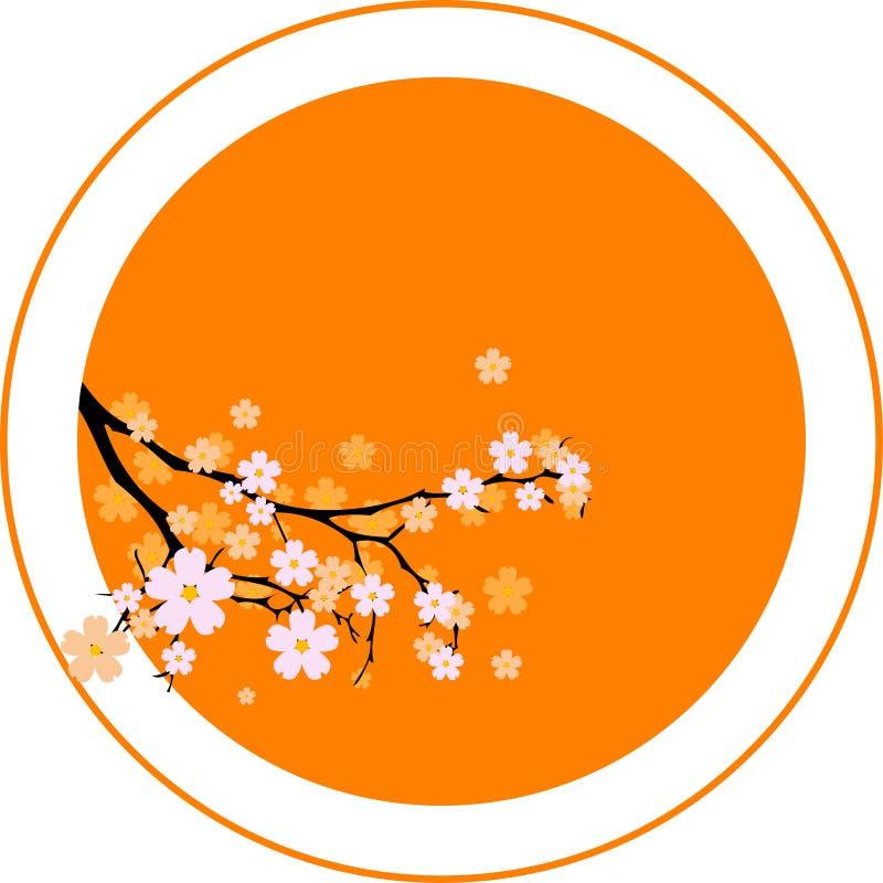 Oriental cherry royalty free stock photos