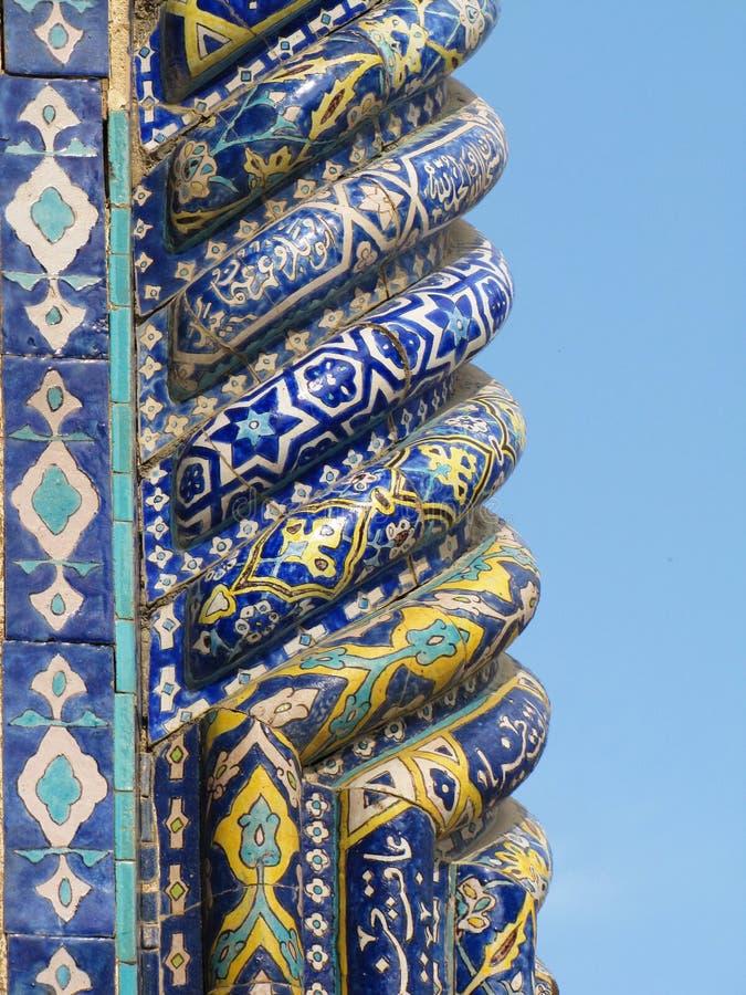 Oriental column royalty free stock photos