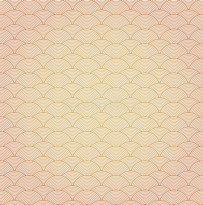 Download Oriental Curve Wave Pattern Background Stock Vector - Image: 28155679