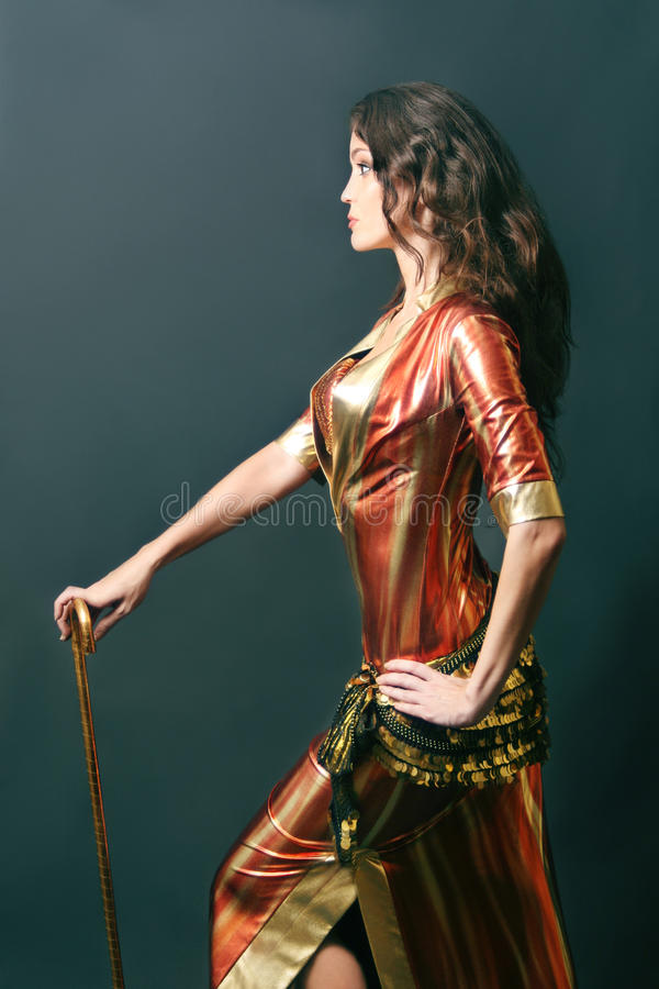 Download Oriental Dancer Cabaret Woman Stock Photo - Image: 18021700