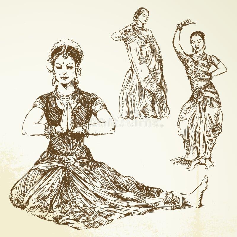 Oriental Dancers Stock Images