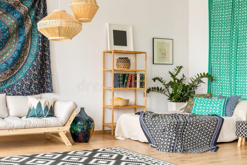 Oriental design in interior royalty free stock image
