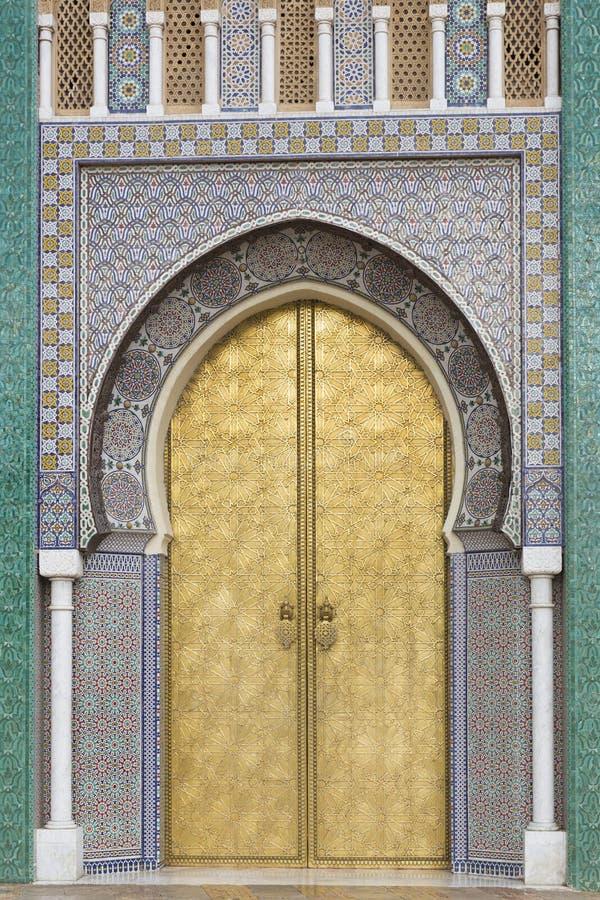 Download Oriental doors in Morocco stock photo. Image of landmark - 37079446 & Oriental doors in Morocco stock photo. Image of landmark - 37079446