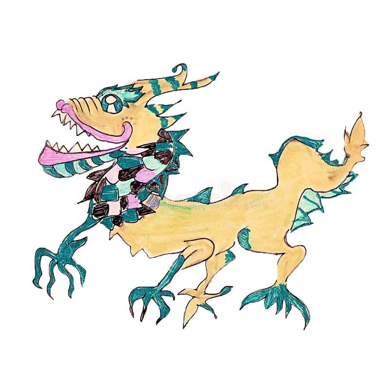 Oriental Dragon Stock Image
