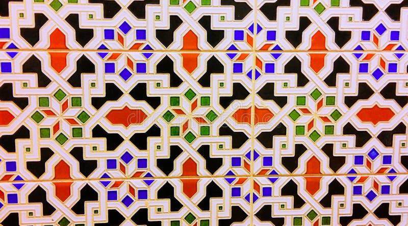 Oriental ethnic style pattern stock image
