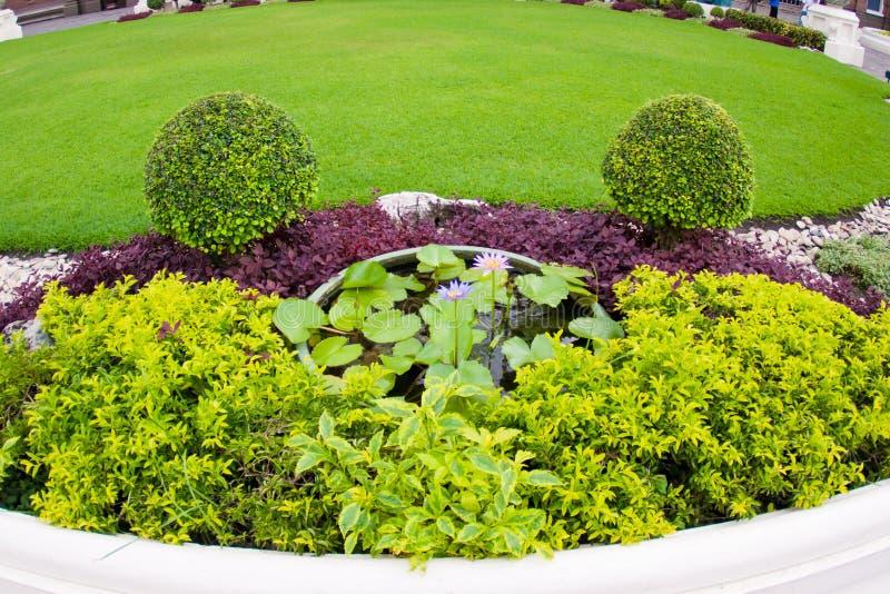 Oriental Garden Stock Photos