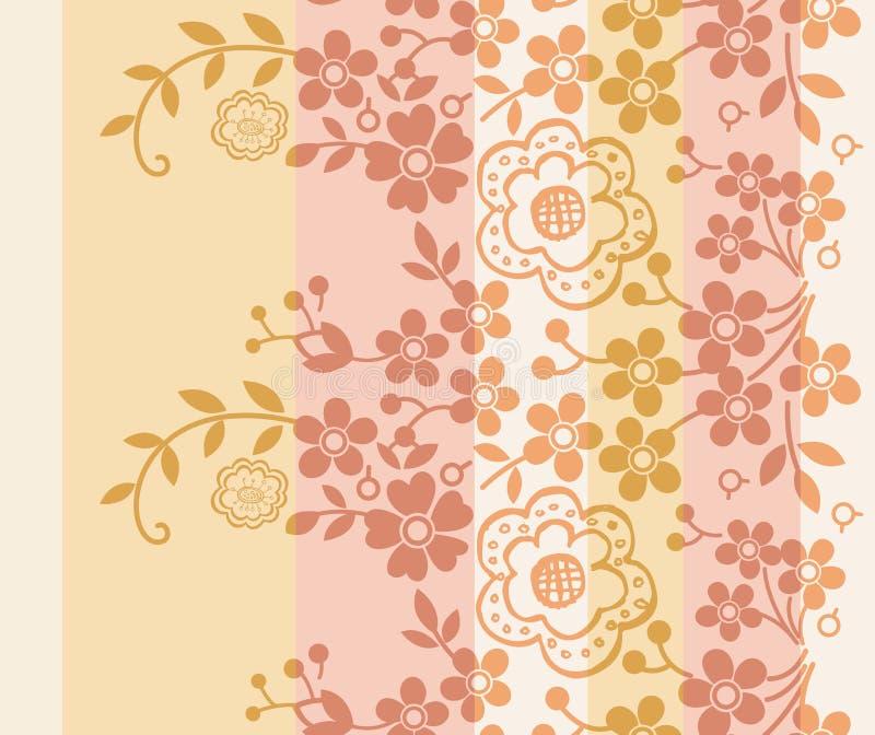Download Oriental kwiecisty wzór ilustracja wektor. Ilustracja złożonej z japończycy - 13336795