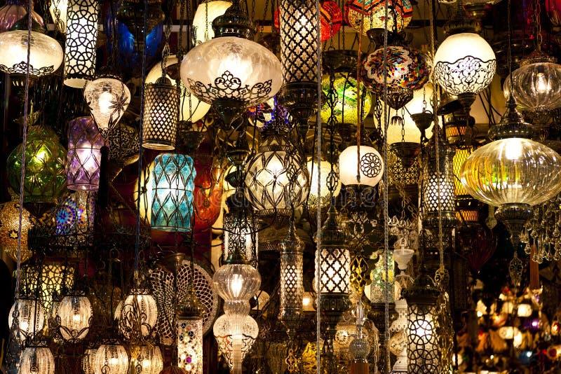 oriental lamps stock photo image of sale oriental. Black Bedroom Furniture Sets. Home Design Ideas
