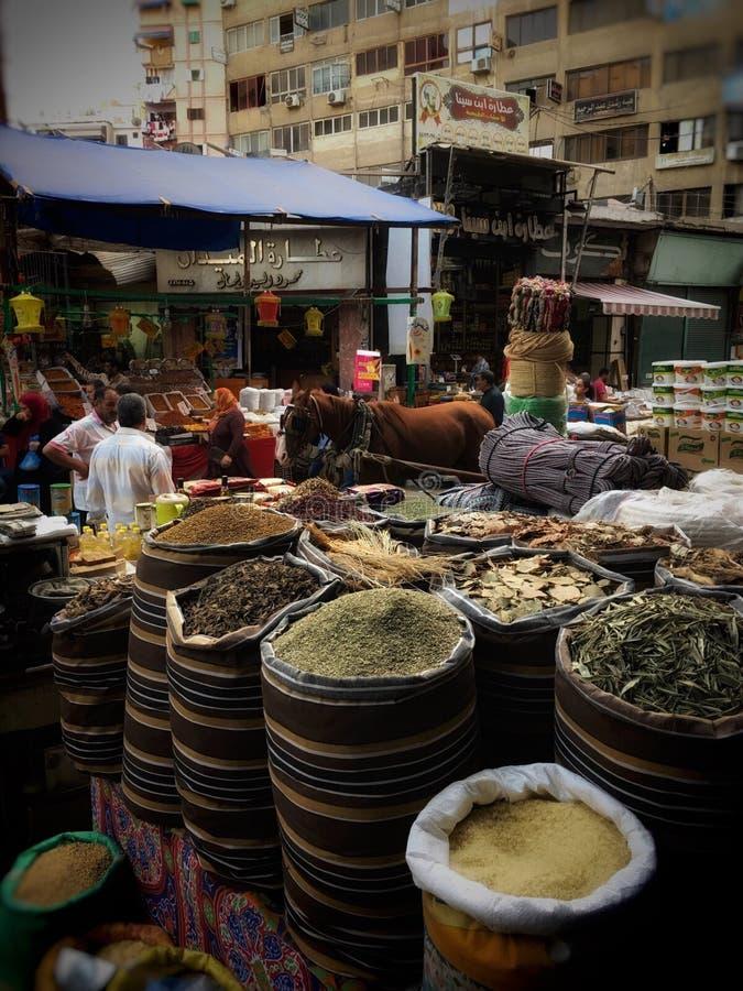 Oriental market. Old market _Alexandria royalty free stock photos