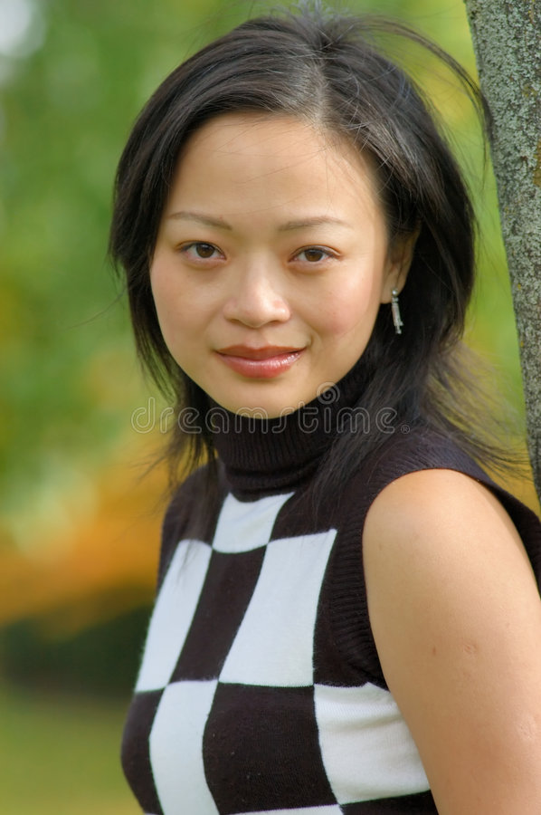 Oriental Model royalty free stock photo