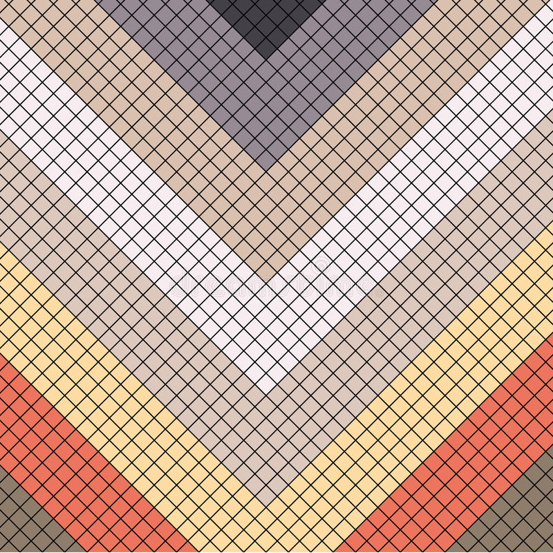 Oriental mosaic pattern Background royalty free stock photos