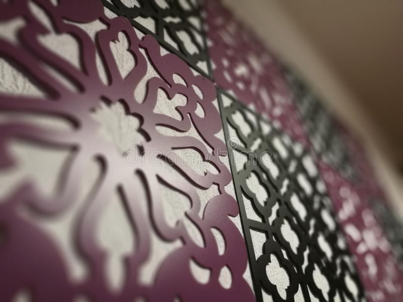 Oriental Pattern of Love royalty free stock images