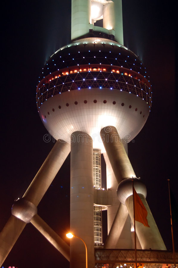 Download The Oriental Pearl TV Tower Of Shanghai Royalty Free Stock Photos - Image: 8875448