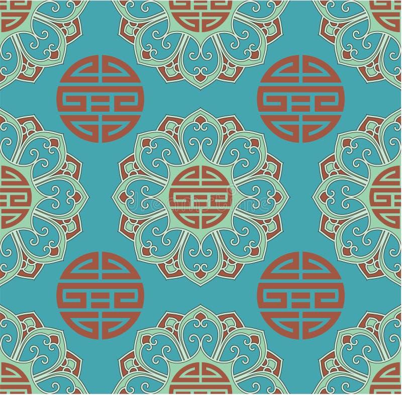 Oriental Seamless Background stock image