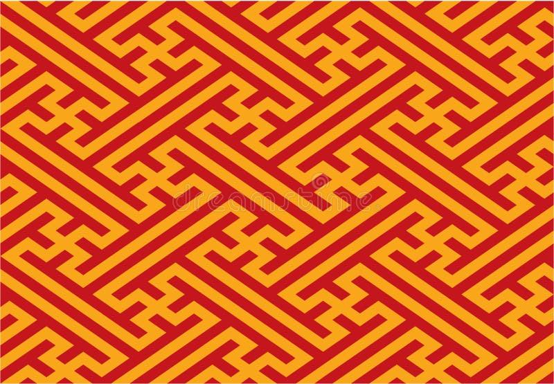 Oriental Seamless Pattern vector illustration