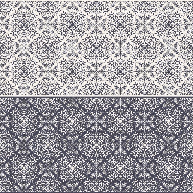 Free Oriental Seamless Pattern Stock Photo - 43407730