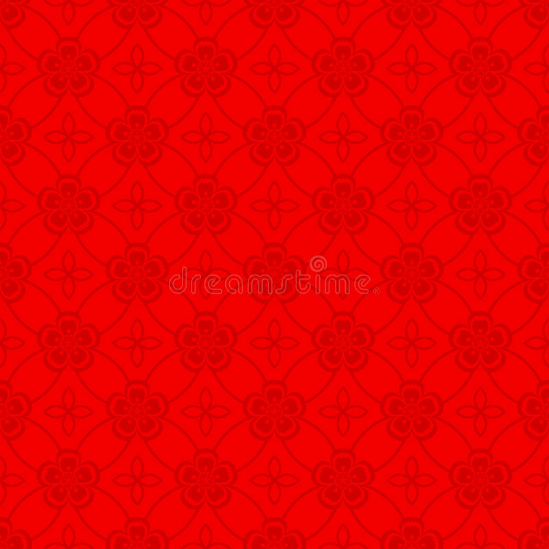 Oriental Seamless Pattern Background stock images