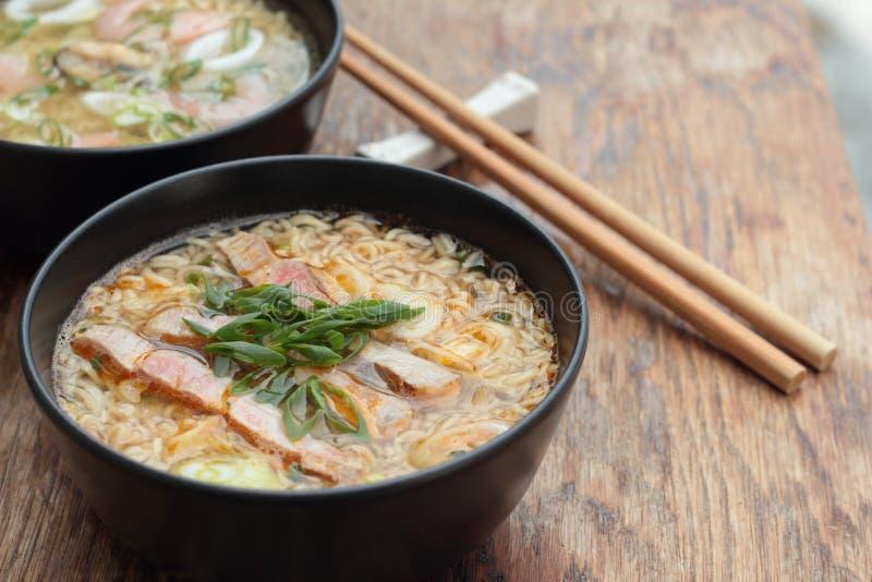 Oriental soup. royalty free stock photos