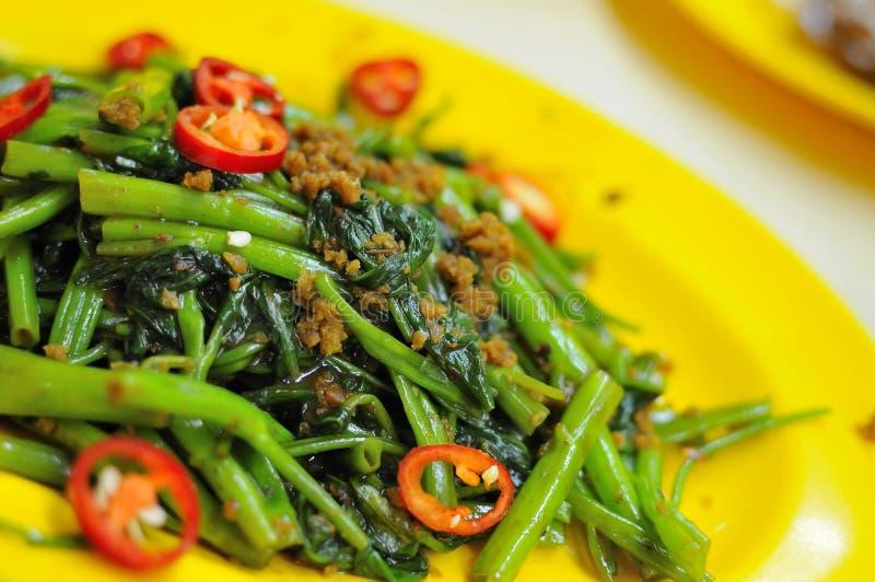 Oriental spicy vegetables stock photo