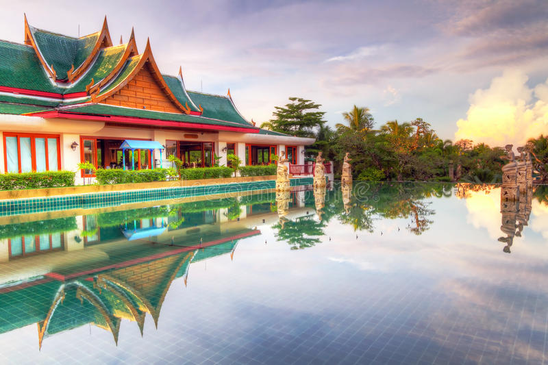 Oriental Style Architecture In Thailand Royalty Free Stock Images