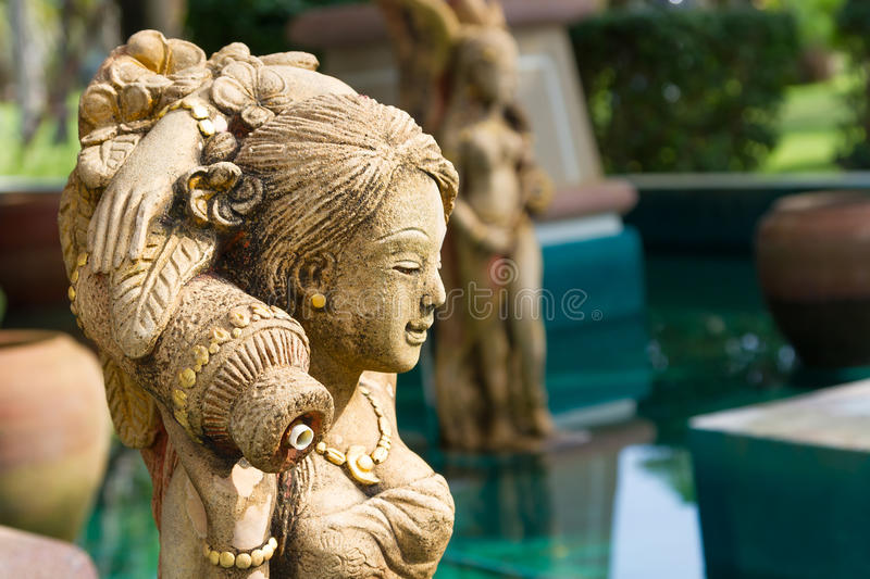 Download Oriental Style Fountain Statues Stock Photos - Image: 28905383
