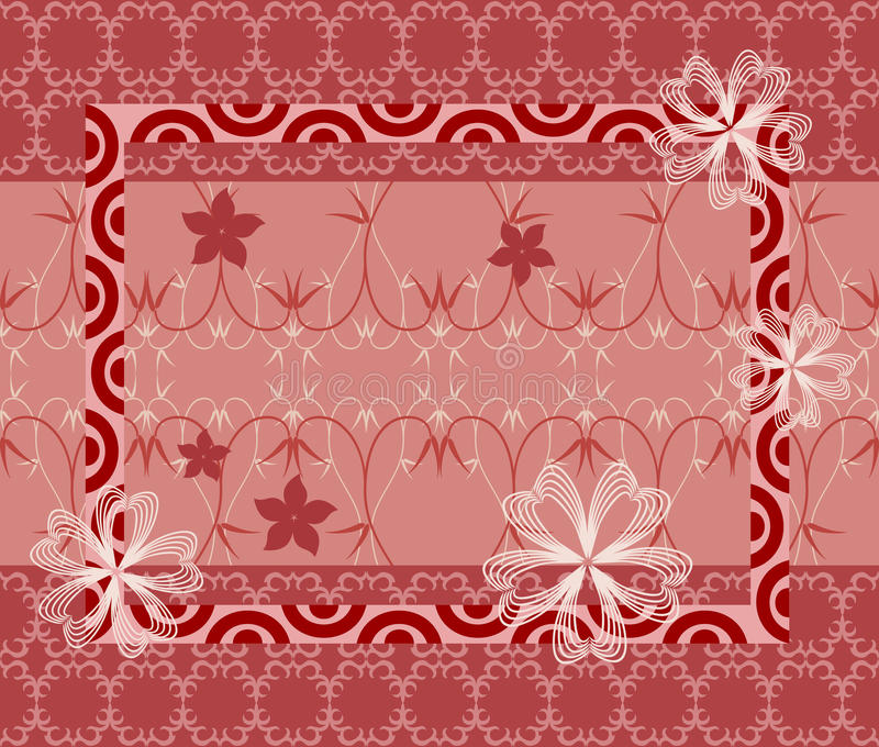 Oriental Style Seamless Background. Ornate background with different abstract geometric shapes pattern and floral elements. Seamless in any directions. Use it vector illustration