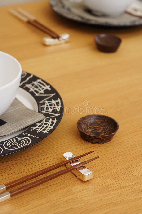 Free Oriental Table Setting Stock Images - 517254