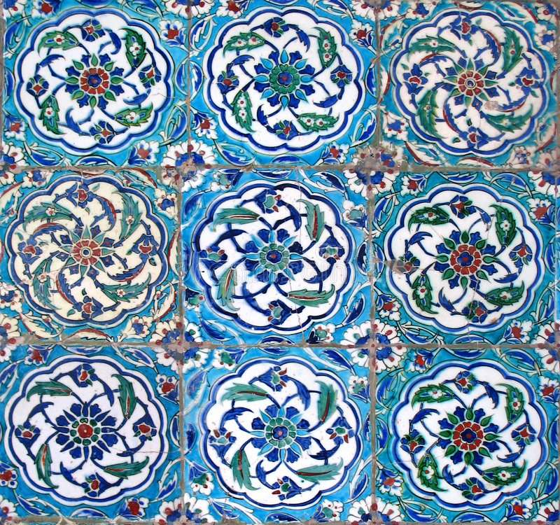 Free Oriental Tiles Royalty Free Stock Images - 1798239